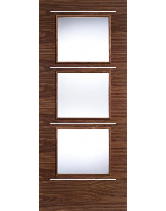 Murcia Glazed Walnut Interior Door image