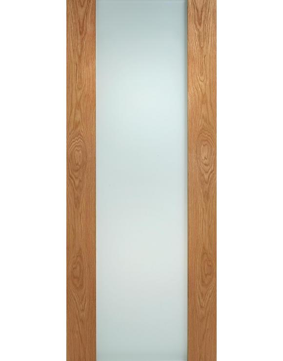 Toronto Oak Glazed Interior Door image