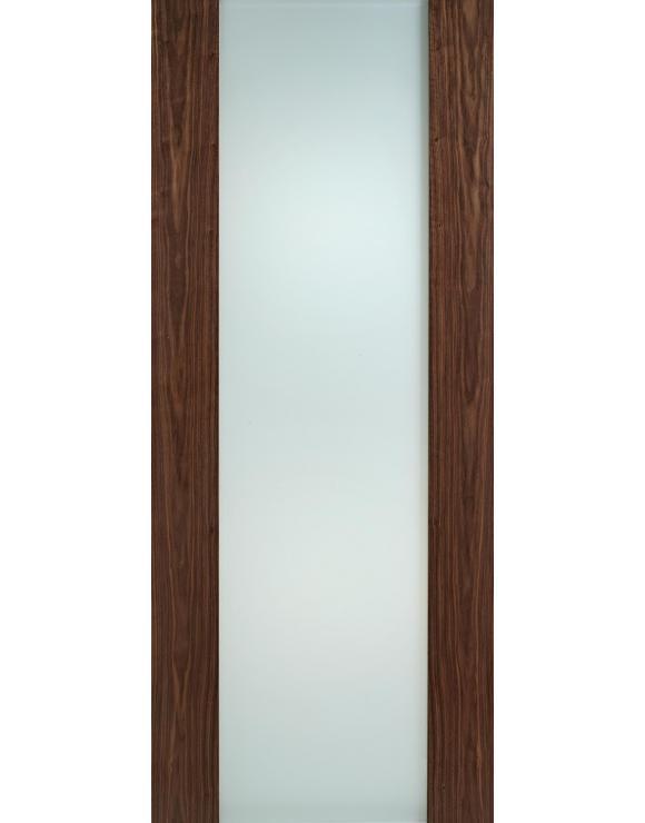 Toronto Walnut Glazed Interior Door image