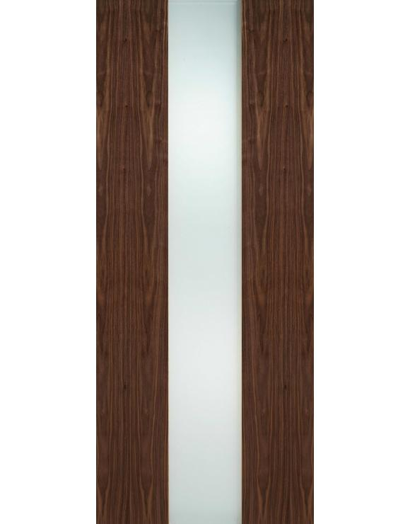 Zaragoza Walnut Glazed Interior Door image