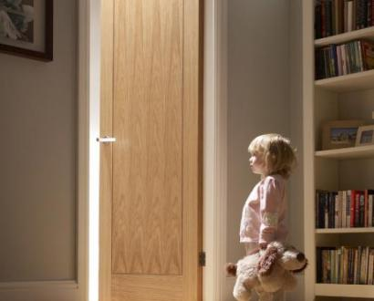 Pre-Finished Oak Inlay Doors