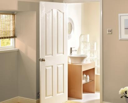 White Moulded