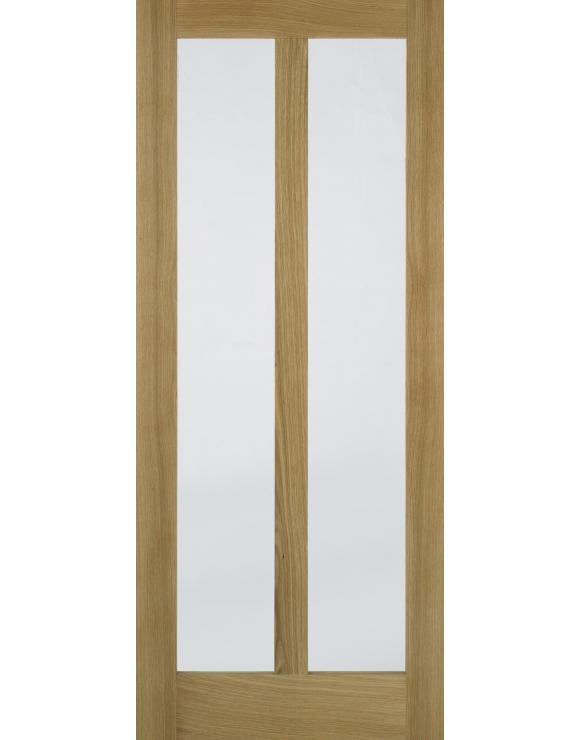 Vermont Glazed Oak Interior Door image