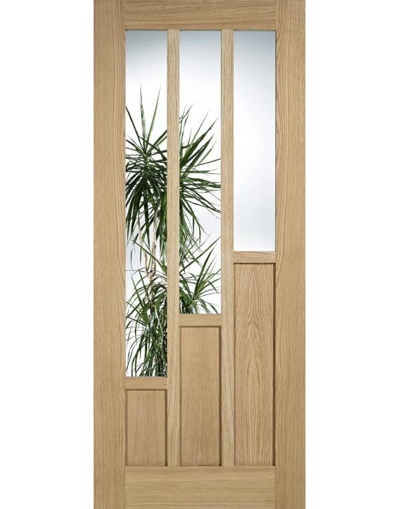 Coventry Glazed Oak Interior Door image