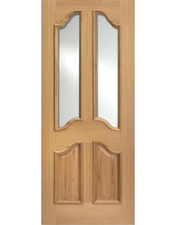 Richelieu RM2S Glazed Oak Interior Door image