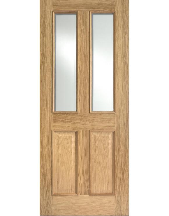 Richmond RM2S Glazed Oak Interior Door image