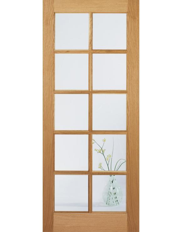 SA 10L Glazed Oak Interior Door image