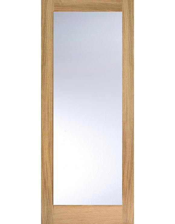 Pattern 10 Glazed Oak Interior Door image