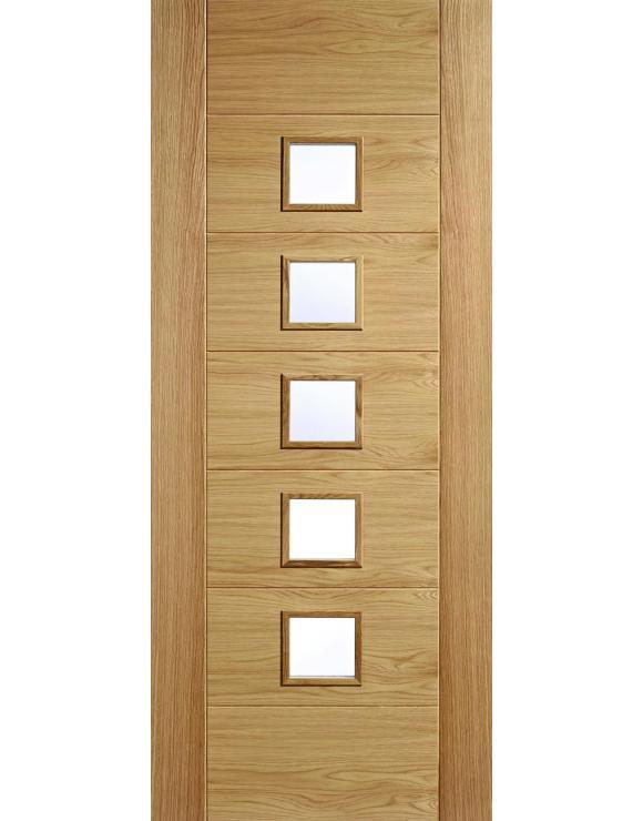 Carini 5L Oak Interior Door image