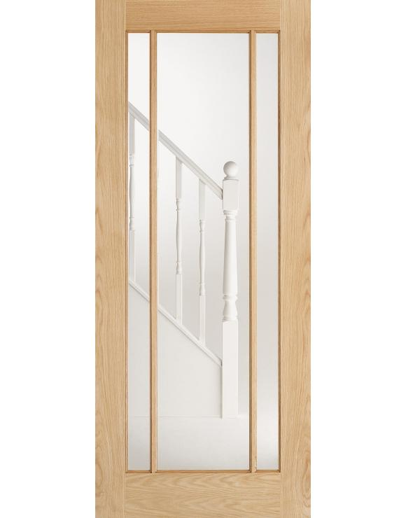 Lincoln Glazed Oak Interior Door image