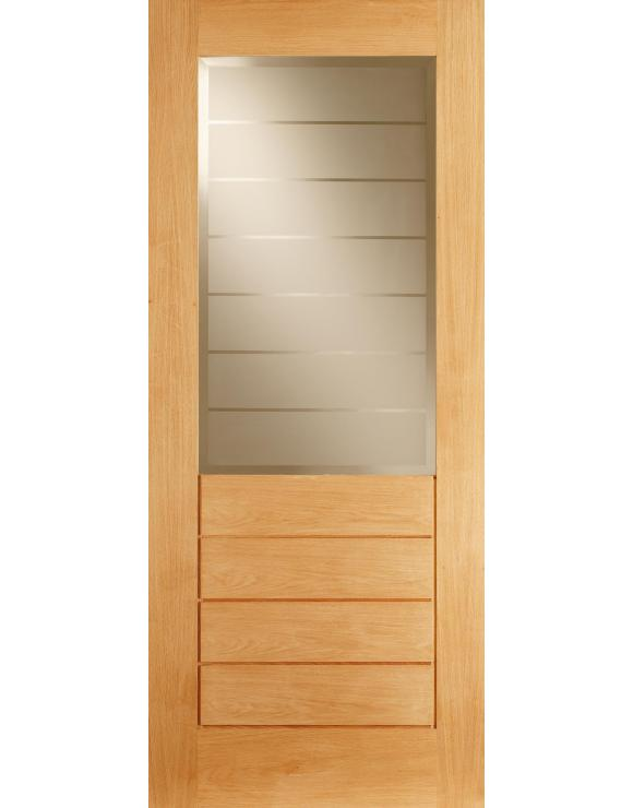 Salvador 1L/4P Oak Interior Door image