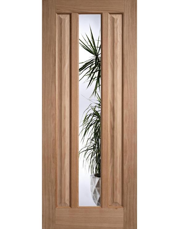 Kilburn Glazed Oak Interior Door image
