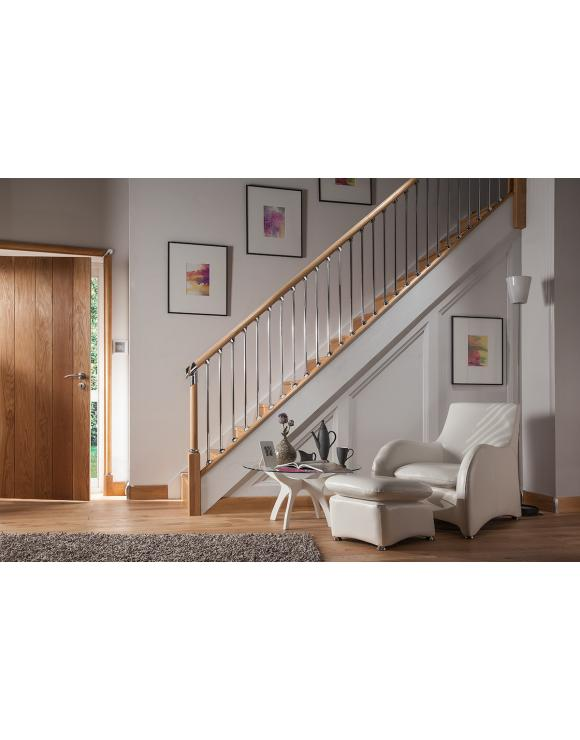 Axxys Evolution Newel Bases - Select Timber and Size image
