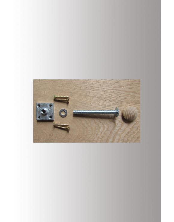 Universal Handrail to Newel Post Fixing Kit image