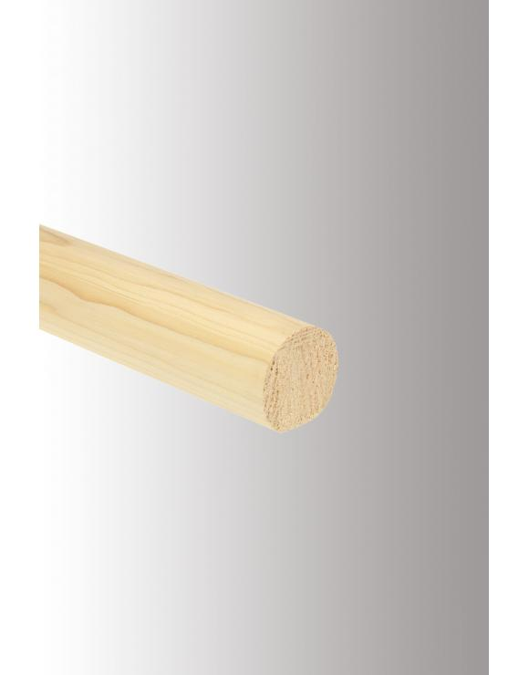 Mopstick Handrail 54mm Select Timber and Length image
