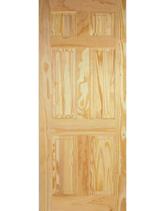 6P Clear Pine Interior Door image