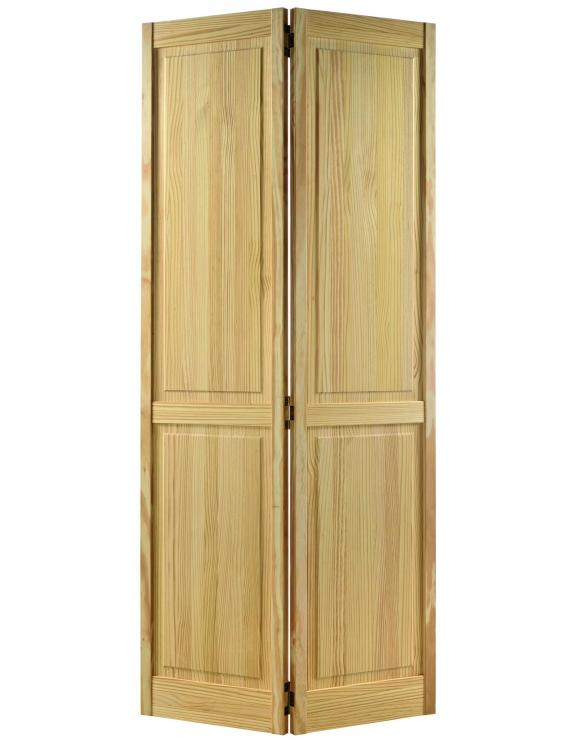 4P Bi-Fold Clear Pine Interior Door image