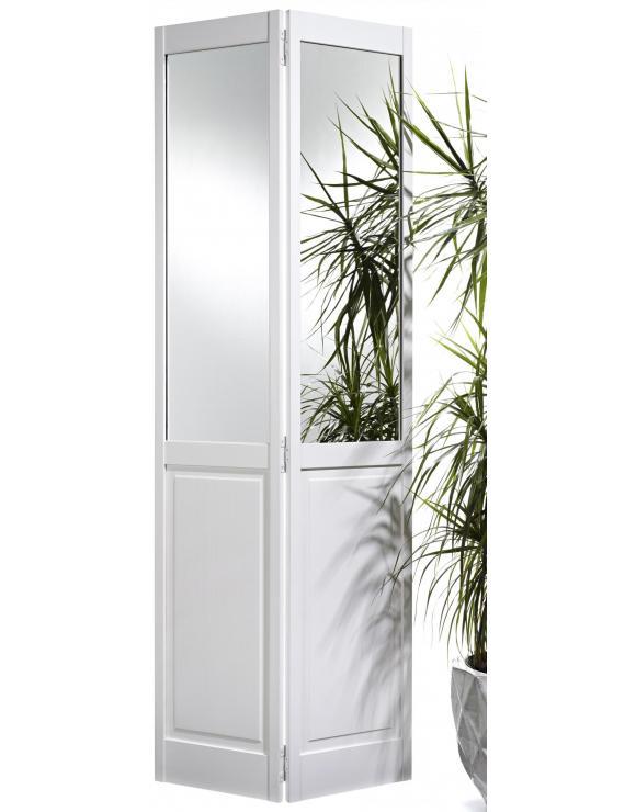 2P Bi-Fold Mirror White Pine Interior Door image