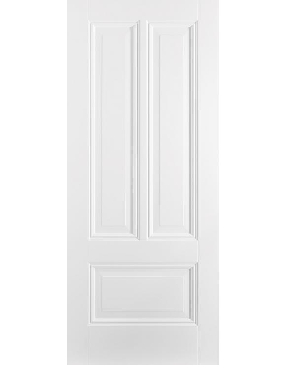 Peony 3P Solid White Primed Interior Door image