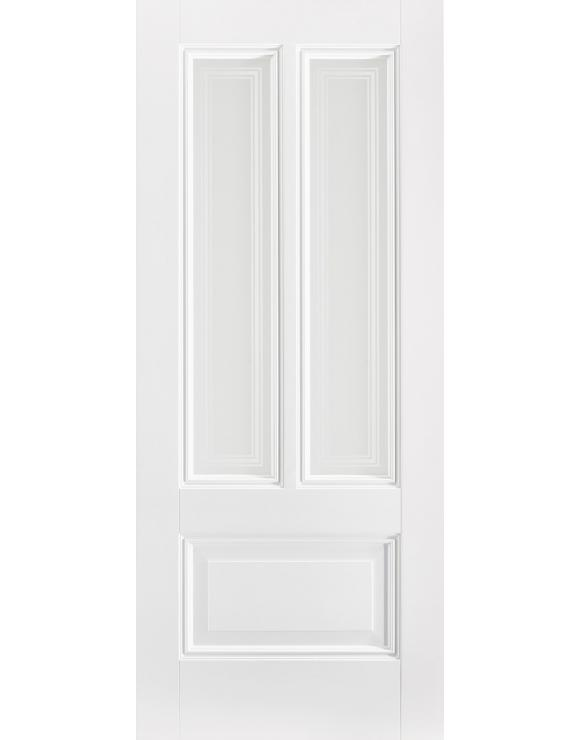 Peony Silkscreen Solid White Primed Interior Door image