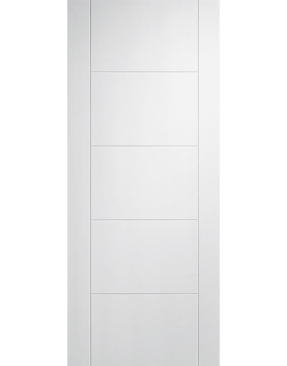 Vancouver 5P Solid White Primed Interior Door image