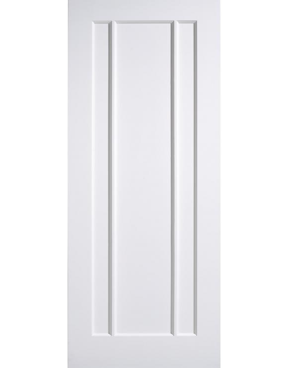 Lincoln Solid White Primed Interior Door image