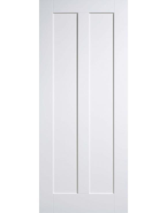 Maine 2P Solid White Primed Interior Door image