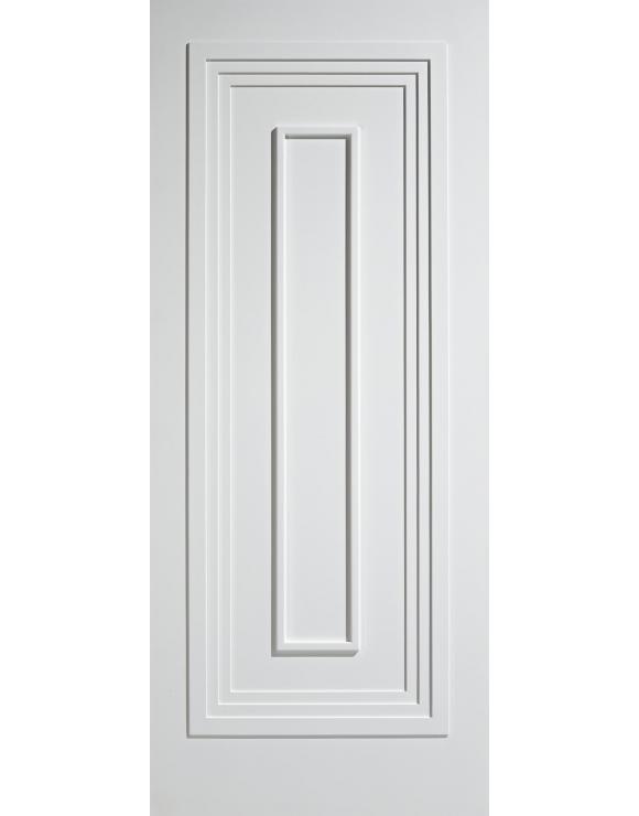 Atlanta Solid White Primed Interior Door image