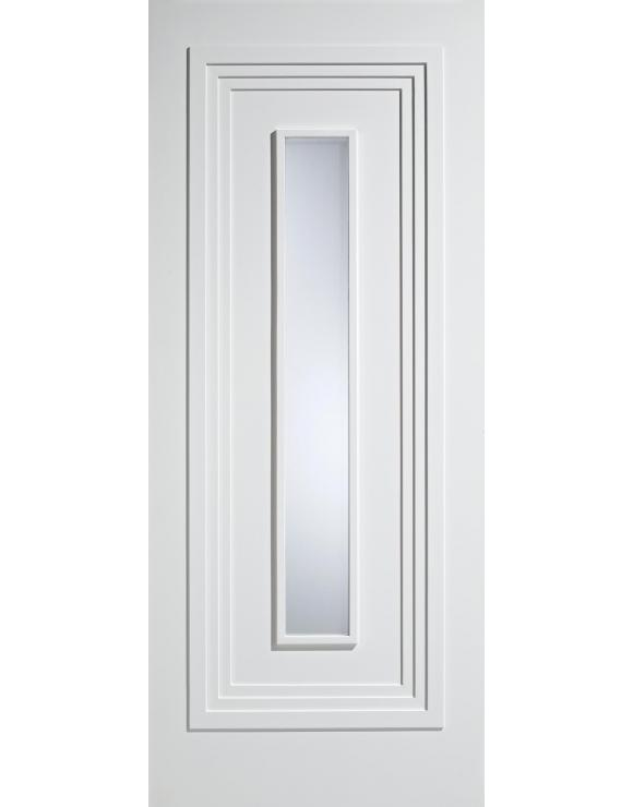 Atlanta Glazed Solid White Primed Interior Door image