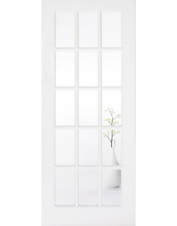 SA 15L Solid White Primed Interior Door image