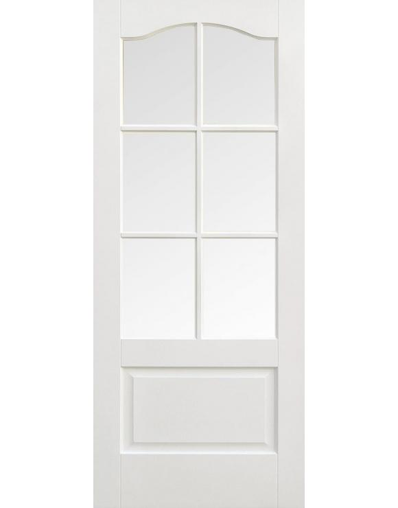 Kent 6L Solid White Primed Interior Door image