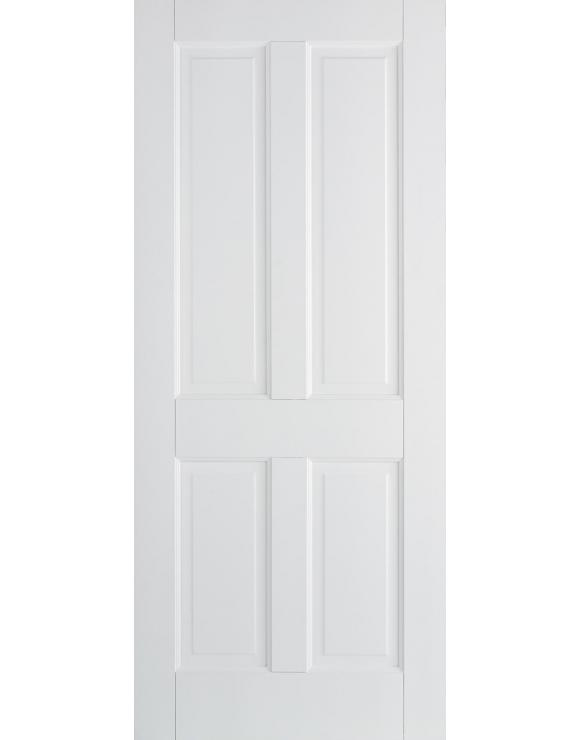 Canterbury 4P Solid White Interior Door image
