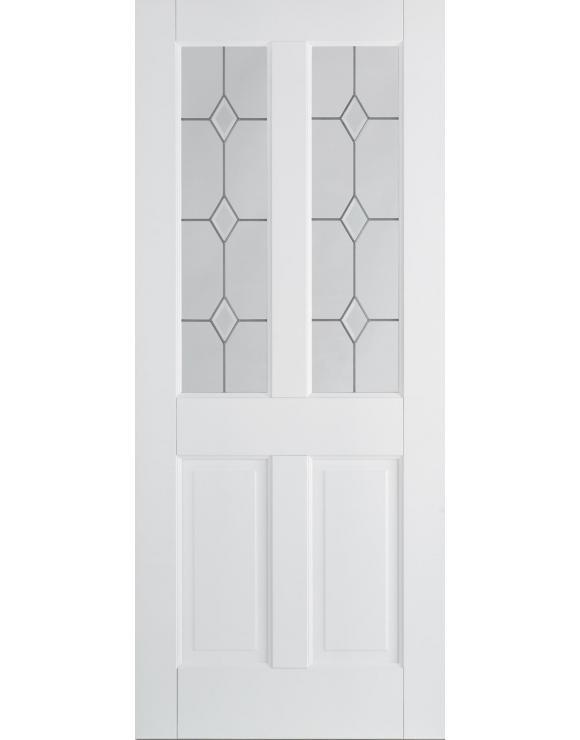 Canterbury 2P/2L Solid White Interior Door image