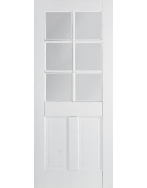 Canterbury 2P/6L Solid White Interior Door image