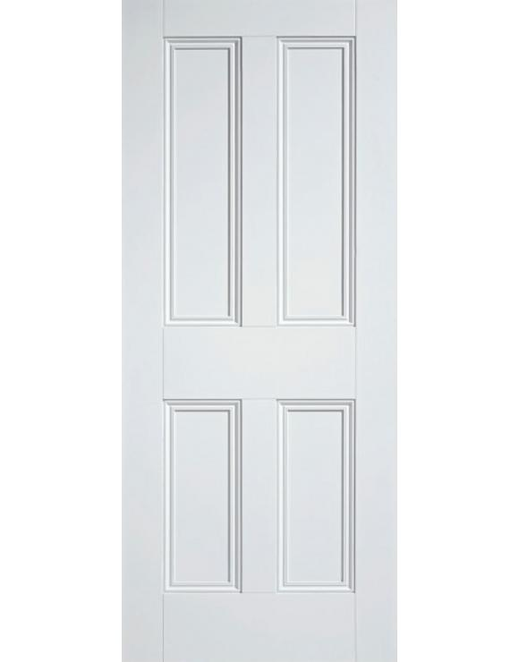 Nostalgia 4P Solid White Primed Interior Door image