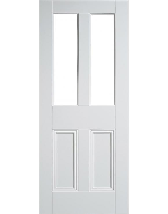 Malton Solid White Primed Interior Door image