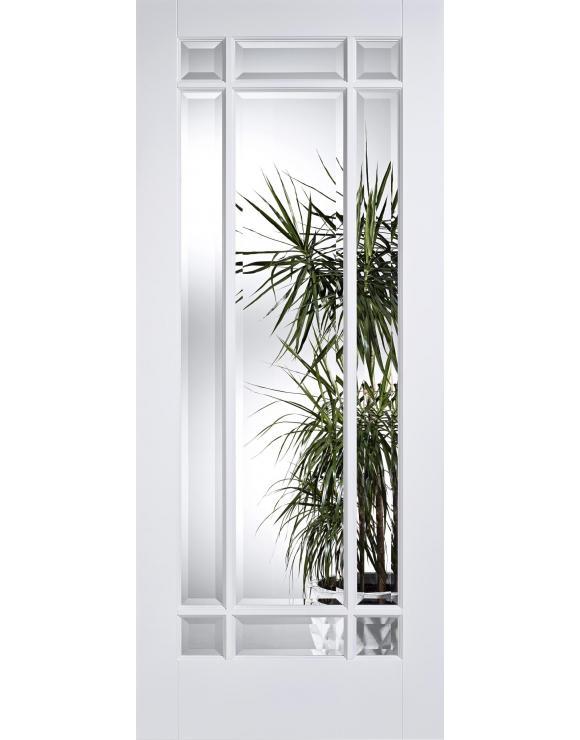 Manhattan Solid White Primed Interior Door image