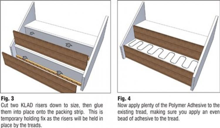Oak Stair Klad Fitting Instructions