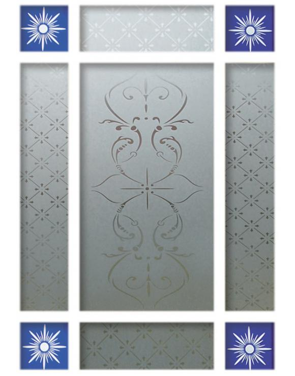 Downham Interior Door Glass Pack image