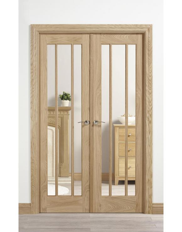 Oak Lincoln W4 Room Divider image