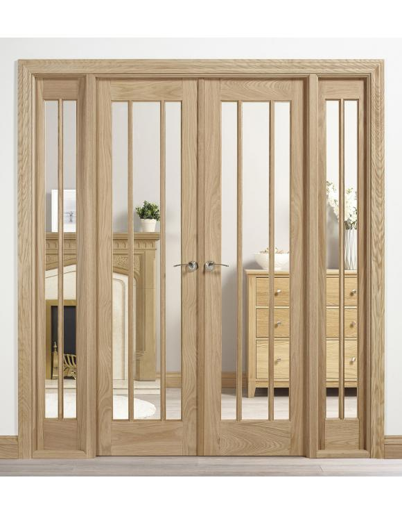 Oak Lincoln W6 Room Divider image