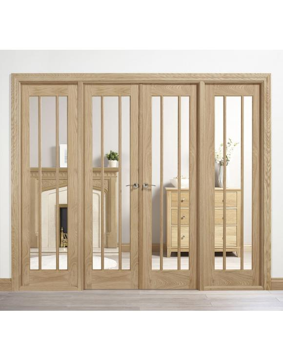 Oak Lincoln W8 Room Divider image