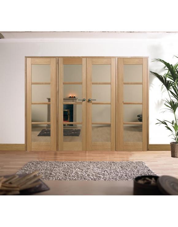 Oak Oslo W8 Room Divider image