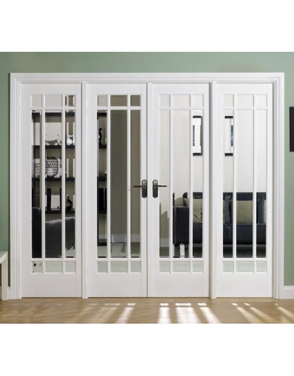 Manhattan W8 Solid White Primed Divider Set image