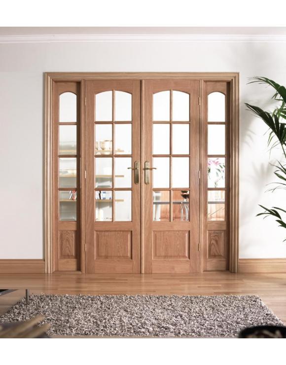 W6 Oak Room Divider image