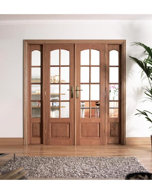 W6 Hardwood Room Divider image