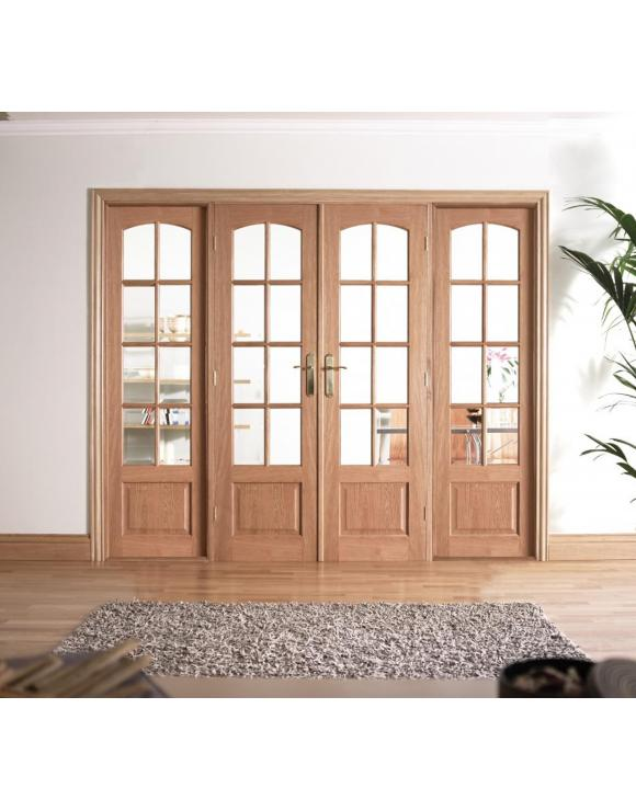 W8 Oak Room Divider image
