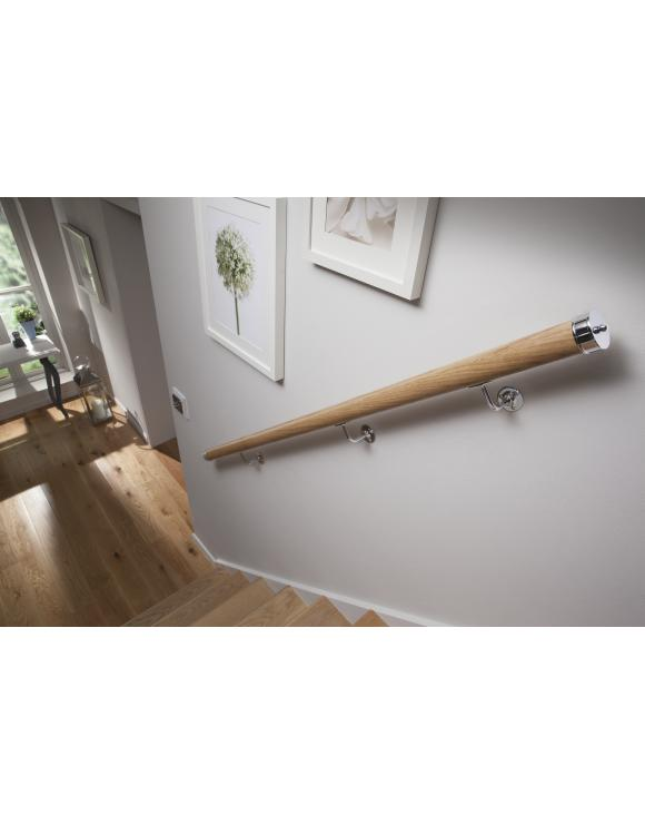Mopstick Handrail End Cap Pk 2 Select Finish image