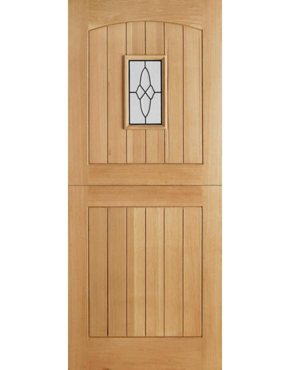 Cottage Stable 1L Oak Exterior Door image