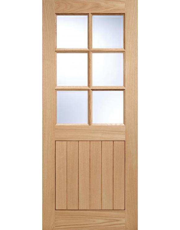 Cottage 6L Oak Exterior Door image